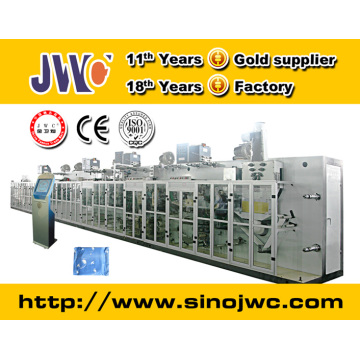 Day Use Full Servo Sanitary Napkin Machinery Equipment