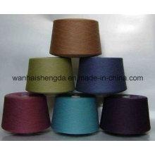 Dope gefärbt gemischt Polyester Baumwolle gesponnenes Garn