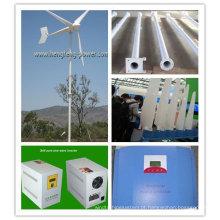turbina de vento 3KW fora grade/na grade com CE certificados