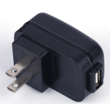 High quality UL Standard Universal 5V 2A Single Port USB Travel power Charger Adapter USA Plug