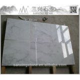 Chinese carrara white marble tile