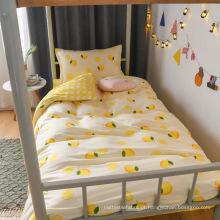 conjunto de lençóis de cama confortável