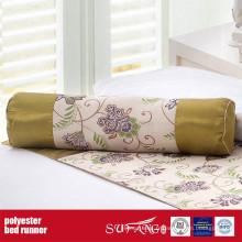 Coureur de lit de tissu de décoration de poly pour la maison