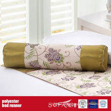 Poly Decoration Fabric Bed Runner for Home
