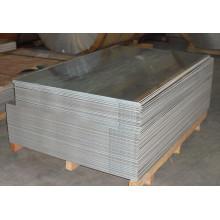 Hoja de aleación de aluminio superficie brillante 6061 T6 para pasadores de bisagra