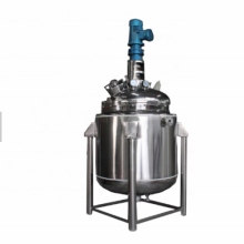 Distillation Reactor Vacuum with Mixing Motor and Reducer