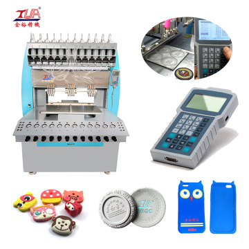12-Color Soft Rubber phone shell dispensing making Machine