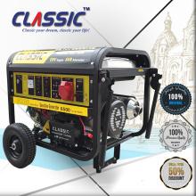 CLASSIC 6KW Kleine Power Gensets, Einfache Bewegung mit Rädern Tragbare Generatoren für zu Hause, leistungsstarke neue Modell Benzin-Generatoren
