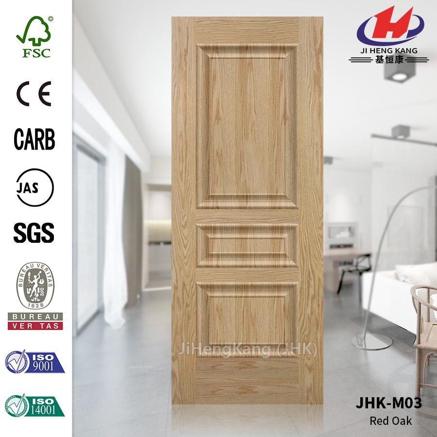 EV OAK HDF Garage Door Panel