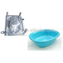 molde plástico de la bañera del bebé de la seguridad