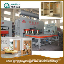 Melamine Paper On MDF Particle Panel Hot Plate Press