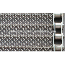 2015 China Venda Quente de Aço Inoxidável Crossrod Wire Mesh Congelador Belt