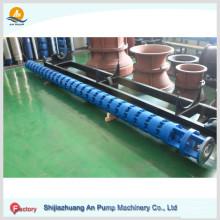Погружной вертикальный турбинный ирригационный насос
