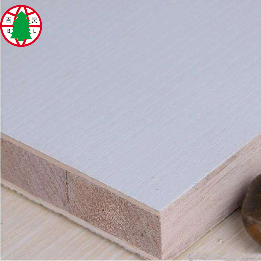Melamine block board falcata blockboard 18mm