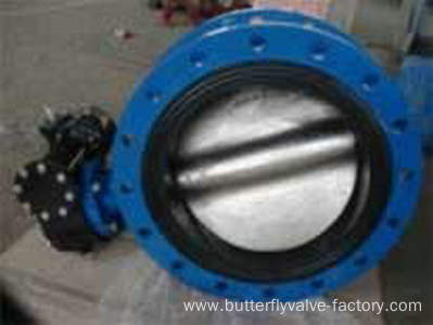Reliable Seal Ceter Line Flanged Butterfly Valve