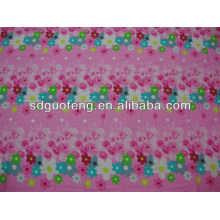 O algodão 100% imprimiu a tela da folha de cama de bebê do fornecedor da porcelana