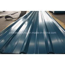 Ibr PPGI feuille de toit en métal ondulé