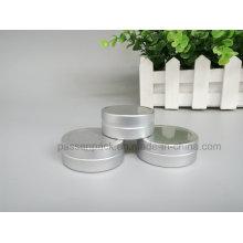 Aluminium-Kosmetik-Creme-Glas mit Snap-on-Cover (PPC-ATC-091)