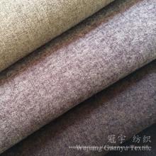 Tela de poliéster de tecido de toque e toque de têxteis para sofá