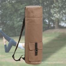 Canvas High-Capacity Yoga Bag Sports Goods Storage Bag Yoga Mat Storage Bag