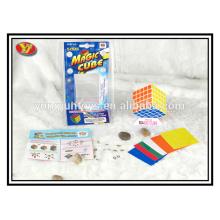 YongJun beliebten Kunststoff 5 Schichten Magie Würfel pädagogischen Spielzeug