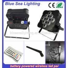 Зарядное устройство с батарейным питанием led par rgbwa uv 6in1 Свадебные венки для вечеринок