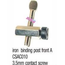 High quality tattoo machine parts iron binding post front A
