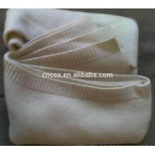 15JWS0717 7GG cobertor liso de cashmere de malha