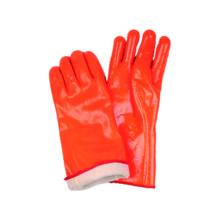 Рабочая перчаточная рабочая перчатка с люминесцентным ПВХ с покрытием