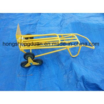 Outil d'escalier professionnel de chariot à main de six roues