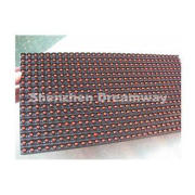 Single Red LED Display Module for Outdoor Use with 10 mm Pi