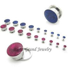 316L jóias em aço inoxidável Glitter Sexy corpo erótico