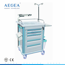 AG-ET005B1 abs medical nursing cart hospital surgical instrument trolley