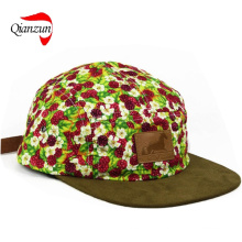 5 Panel Cap Snapback Supreme Camp Hut Neu