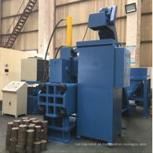 Máquina de prensa briquetadeira de aparas de aço horizontal