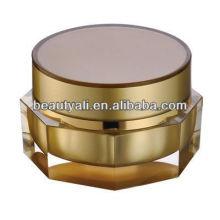 15ml 30ml 50ml empaque creativo de acrílico cosmético de lujo del tarro