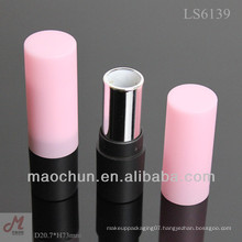 MC6139 simple round cosmetic packaging lipstick