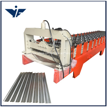 Indonesia  750 Roof Sheet Roll Forming Machine