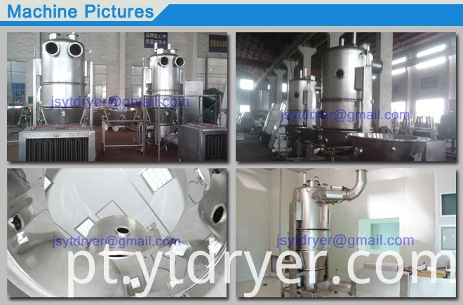 Low Cost Fluidized Bed Dryer and Granules