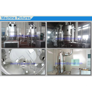 Fluidizing Dryer for Foodstuff
