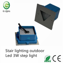 Stair lighting outdoor led 3W step light