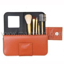 Gift 5PCS Makeup Brush with Mirror