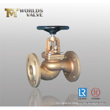 Válvula de globo DIN de acero al carbono (J41H-10/16/25)