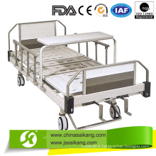 ABS Bed Platform Manual Hospital Bed for Sick Room with Casters