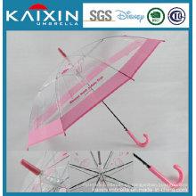 Respetuoso del medio ambiente Printed Poe Plastic Umbrella