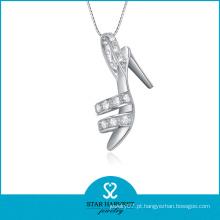 2014 Nova prata 925 sapato em forma de colar (SH-N0080)