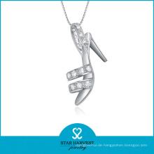 2014 Neue 925 Silber Schuh geformte Halskette (SH-N0080)