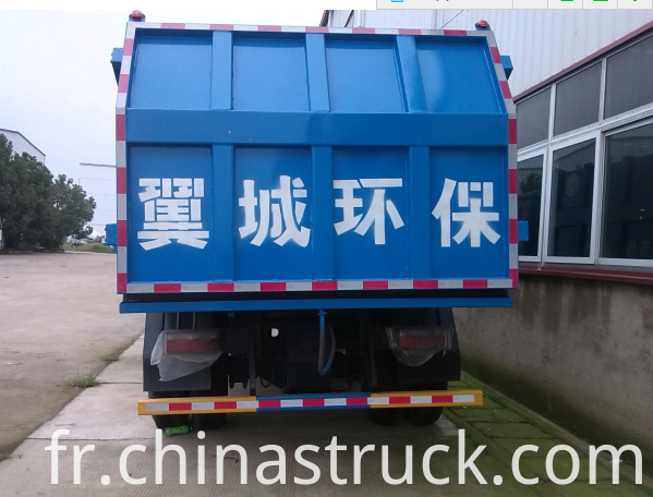 Dongfeng 12Ton garbage tipper truck