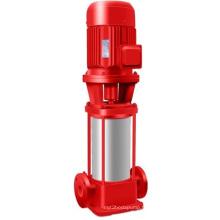 Pompe de lutte contre l'incendie verticale à 1 étape et à amorçage multiple