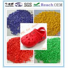 Gránulo de PVC para zapatos